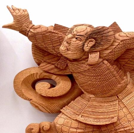 Yamamoto Yosuke Wood Carvings