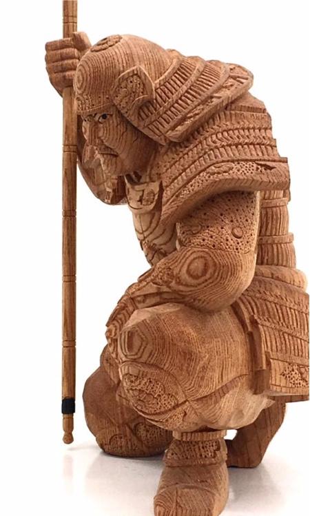 Yosuke Horiyo Wood Carvings