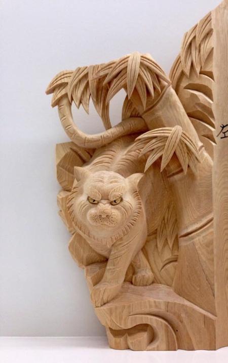 Yamamoto Yosuke Wood Carving