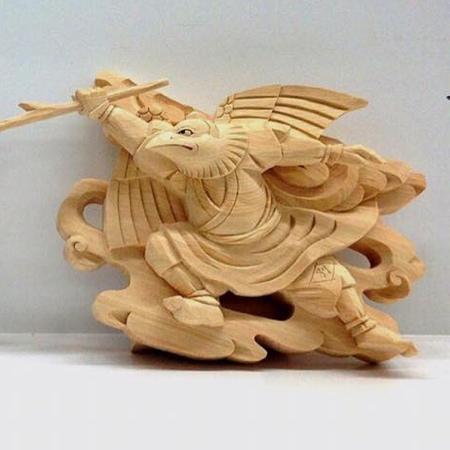 Yosuke Horiyo Wood Carving