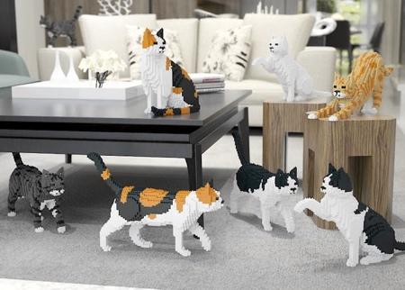 JEKCA LEGO Cats