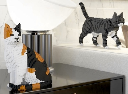 Realistic LEGO Cat