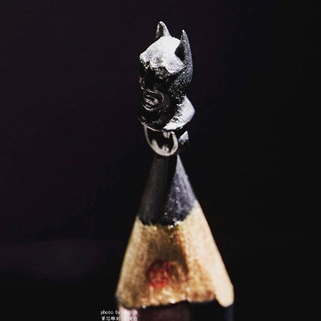 Pencil Carving by Chien Chu Lee