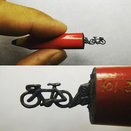 Chien Chu Lee Pencil Carving Art