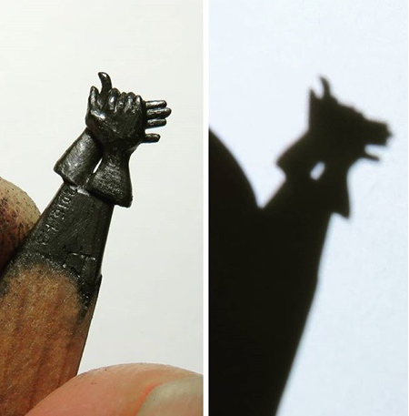 Chien Chu Lee Pencil Carving