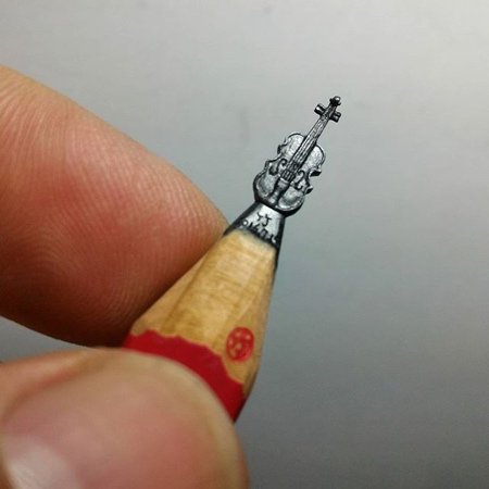 Chien Chu Lee Pencil Sculpture