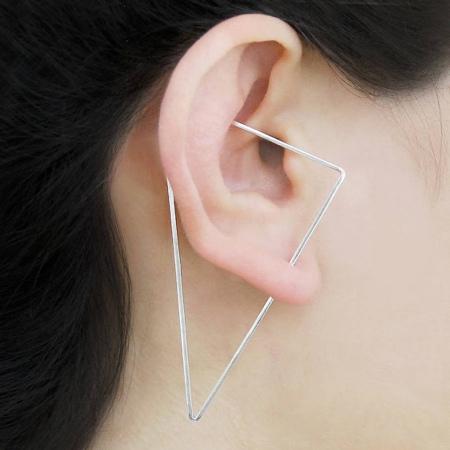 Optical Illusion Earrings