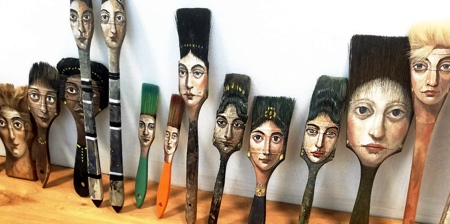 Paintbrush Faces