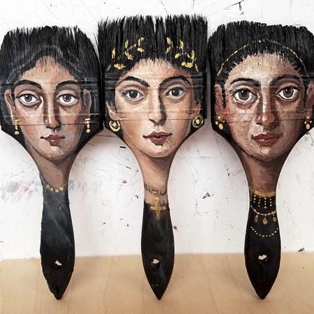 Paintbrush Heads