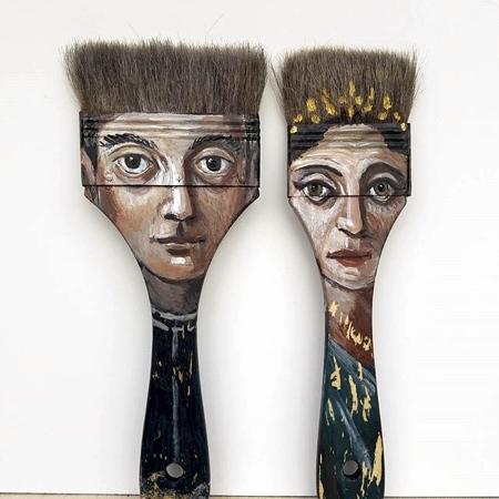 Alexandra Dillon Paintbrush Art