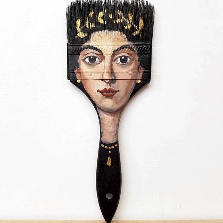 Paintbrush Head