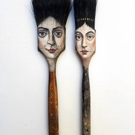 Alexandra Dillon Paintbrush Heads