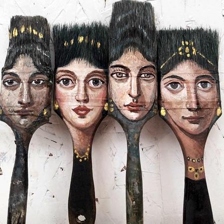 Alexandra Dillon Paintbrushes
