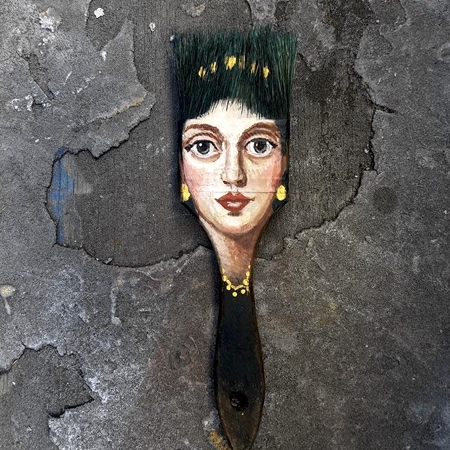 Artist Alexandra Dillon