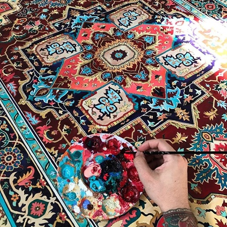 Rug Painting