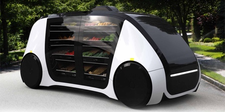 Self-Driving Grocery Store