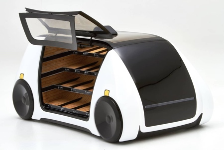 Robomart Self-Driving Grocery Store