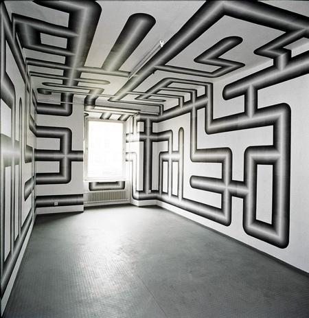 Peter Kogler Room Art