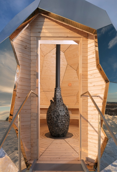 Kiruna Egg Sauna