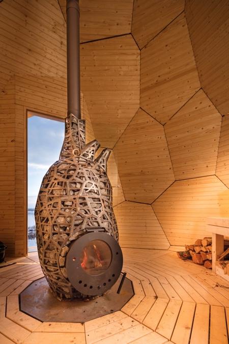 Sweden Egg Sauna