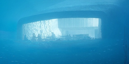 Underwater Restaurant in Norway