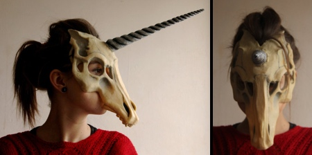 Unicorn Skull Mask