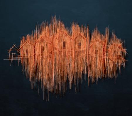 David Moreno Wire Art