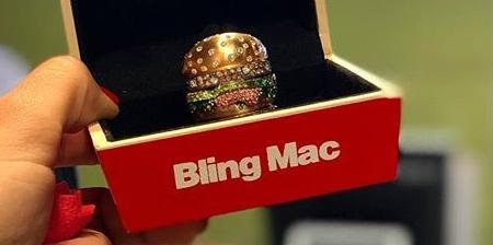 McDonalds Big Mac Ring