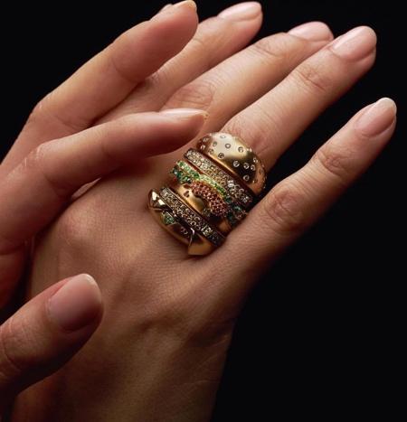Big Mac Gold Ring