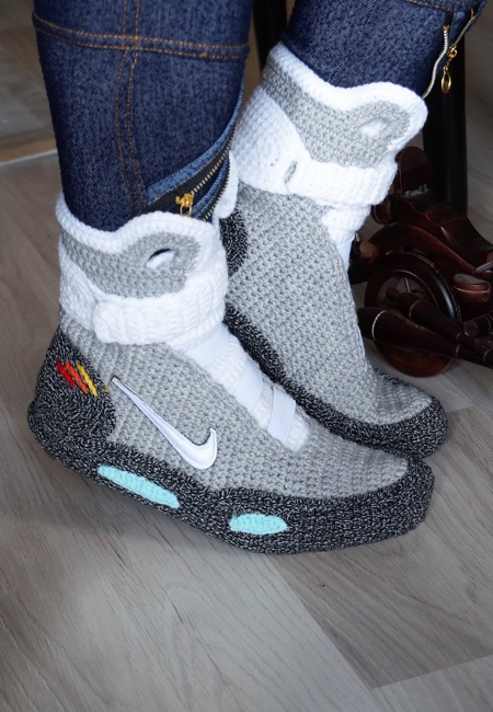 Back to the Future Knitted Sneakers