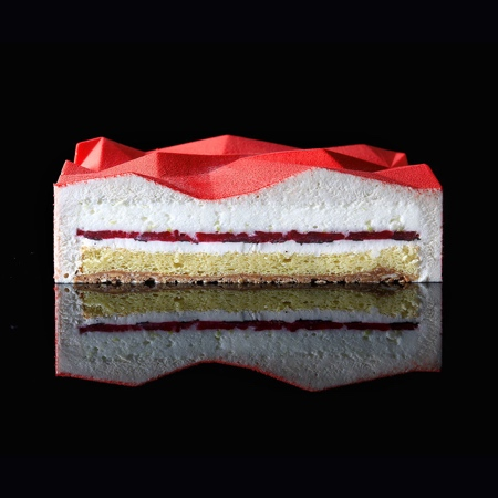 Dinara Kasko Geometric Cakes
