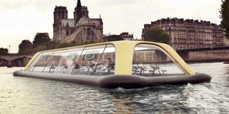 Human Powered Floating Gym