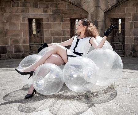 Transparent Cloud Chair