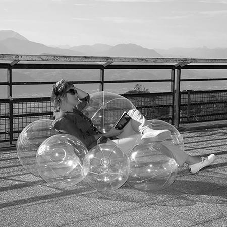 Plastic Cloud Chair