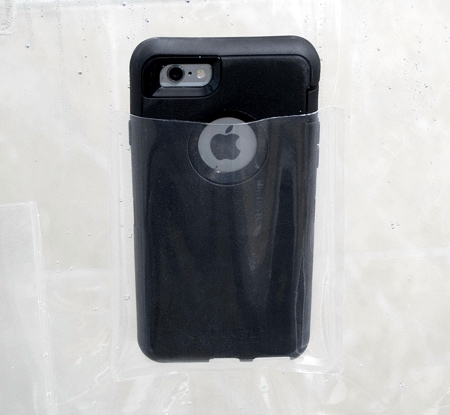 iPhone Holder Shower Curtain