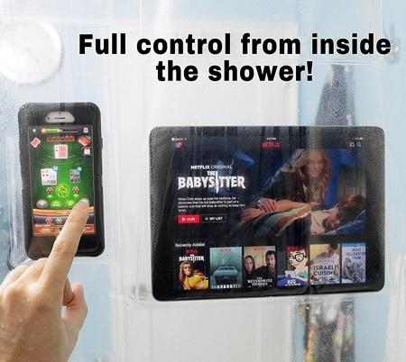 Screenholder Shower Curtain
