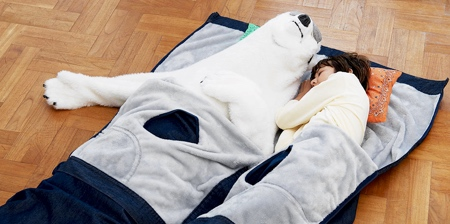 Large Jeans Sleeping Bag