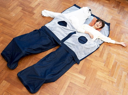 Giant Jeans Sleeping Bag