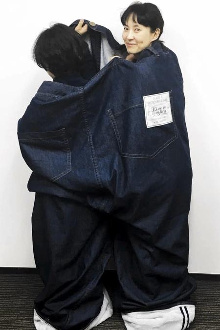 Felissimo Jeans Sleeping Bag
