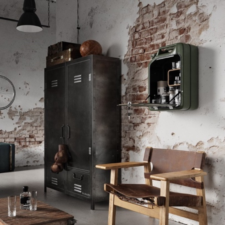 Danish Fuel Bar Cabinet