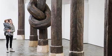 Wooden Knot Column