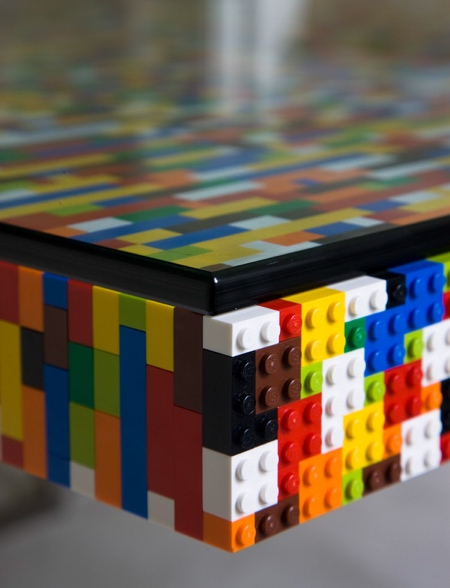 Table Made of LEGO
