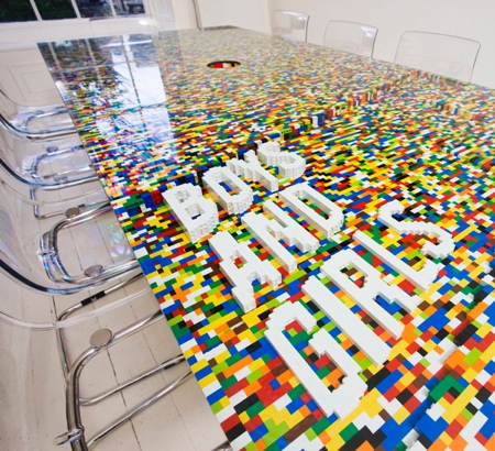 abgc Architecture LEGO Table