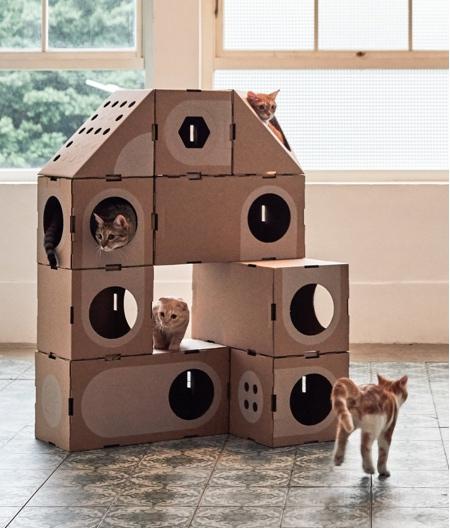 A Cat Thing Modular Cat House