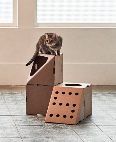 A Cat Thing Cat House