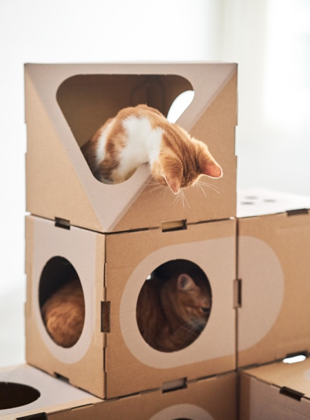 Eco-friendly Cat House