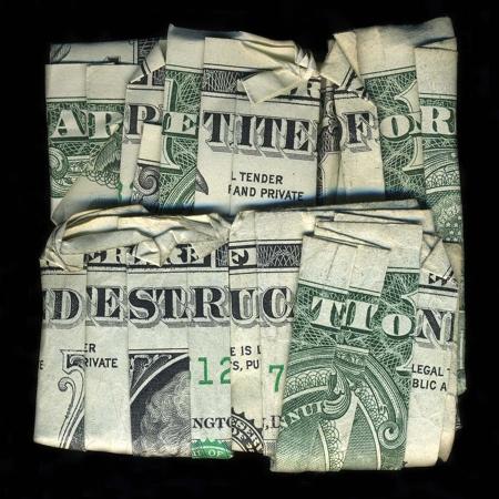 Dan Tague Dollar Art