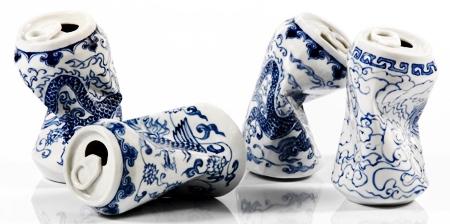 Porcelain Cans
