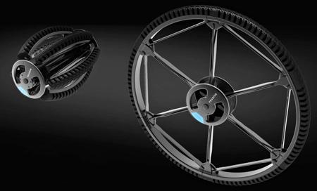 Andrea Mocellin Folding Wheel
