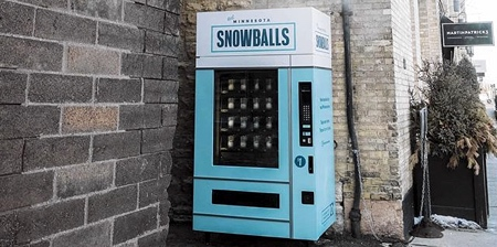 Snowball Vending Machine